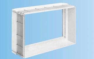Új építkezéseknél a falazat vastagságához illeszkedő ablaktokok alkalmazhatók