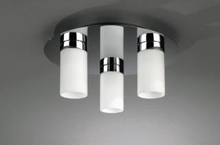 A modern mennyezeti lámpatestekbe egyenes csöves kompakt fénycsövek az ideálisak