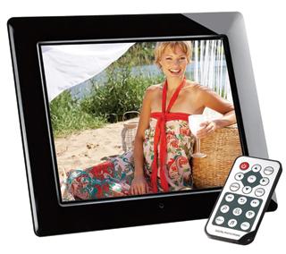 Az infravörös távirányítókkal kényelmesebb a képkeretek használata