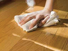 Fa padlóburkolatok ápolása