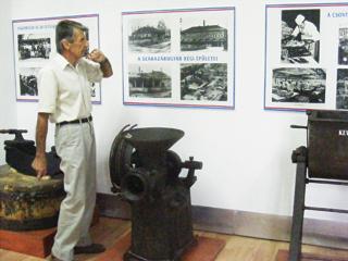 Képek a gyulai Húsipartörténeti Múzeumból