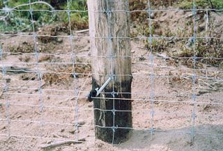 Alsó elektromso védelemmel kiegészített Tornado vadháló